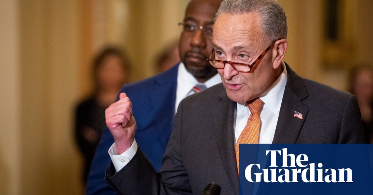 Democrats present united front in For the People Act vote – video