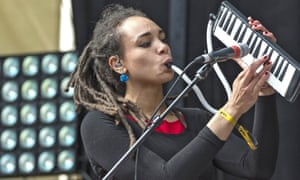 'Real music': Marcia Richards of the Skints.