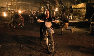 Back and proud ... Vin Diesel in XXX: The Return of Xander Cage