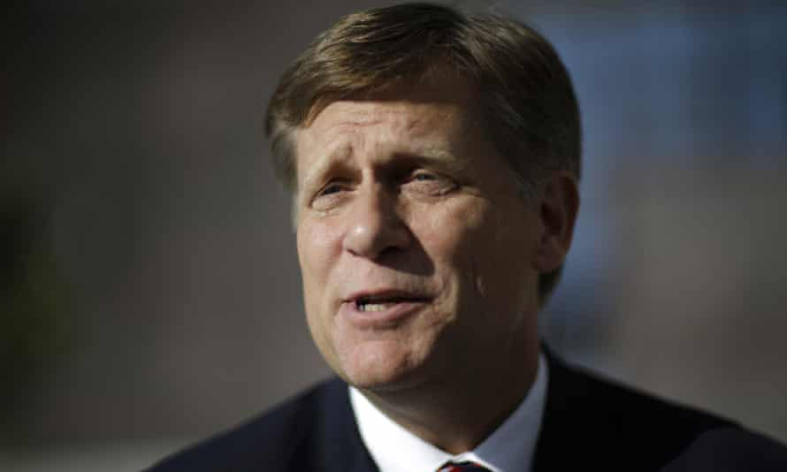 Michael McFaul, the former US ambassador to Russia, is a vocal Putin critic