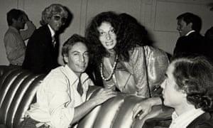Guy Bergon and Diane von Fürstenberg at Studio 54.