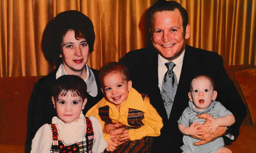 Edward Wayne Edwards, the subject of the Clearing podcast, pictured here with his family.