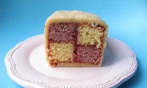 The perfect battenberg cake.
