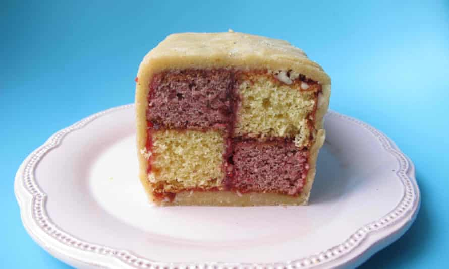 The perfect battenberg cake.