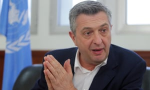 The Italian diplomat Filippo Grandi is the new UN high commissioner for refugees.