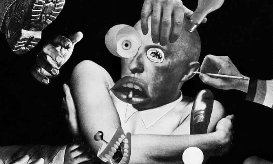 Surrealist bricolage ... Artwork for compilation album Strain Crack & Break: Music from the Nurse With Wound list: Volume I (France).