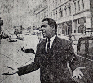 Paul Stephenson campaigning in Bristol in 1963.
