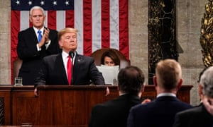 Trump gives his State of the Union speech.