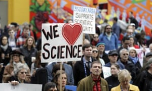 Scientists are coming out of the lab and onto the streets in response to the new administration's actions.