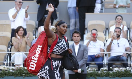 Serena Williams and Naomi Osaka react after crashing out of French Open – video
