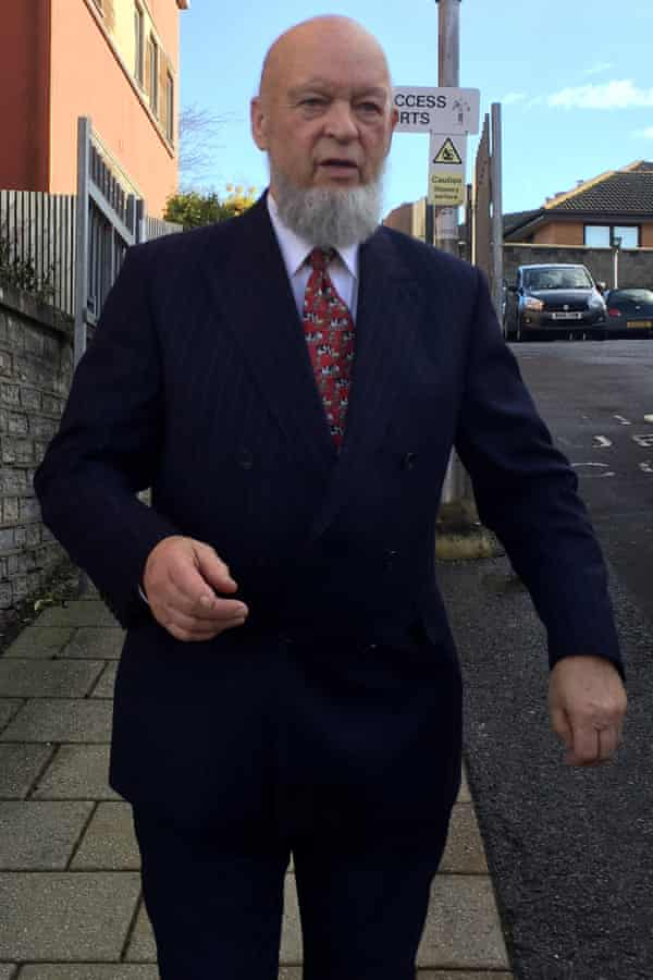 Michael Eavis outside South Somerset and Mendip magistrates court.