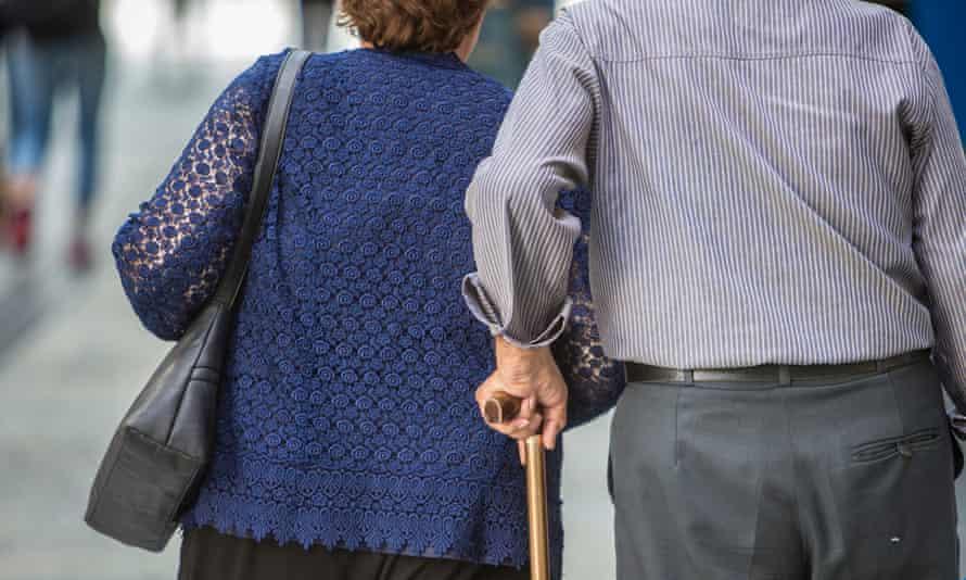 elderly couple in Brisbane,