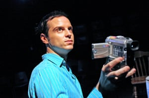 In 2004 Scott starred in A Girl in a Car With a Man as part of the Royal Court's Young Playwrights season. He performed his monologue holding a handheld camcorder, with the footage shown on a bank of video screens. Joe Hill-Gibbins directed.