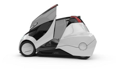 Uniti micro electric vehicle