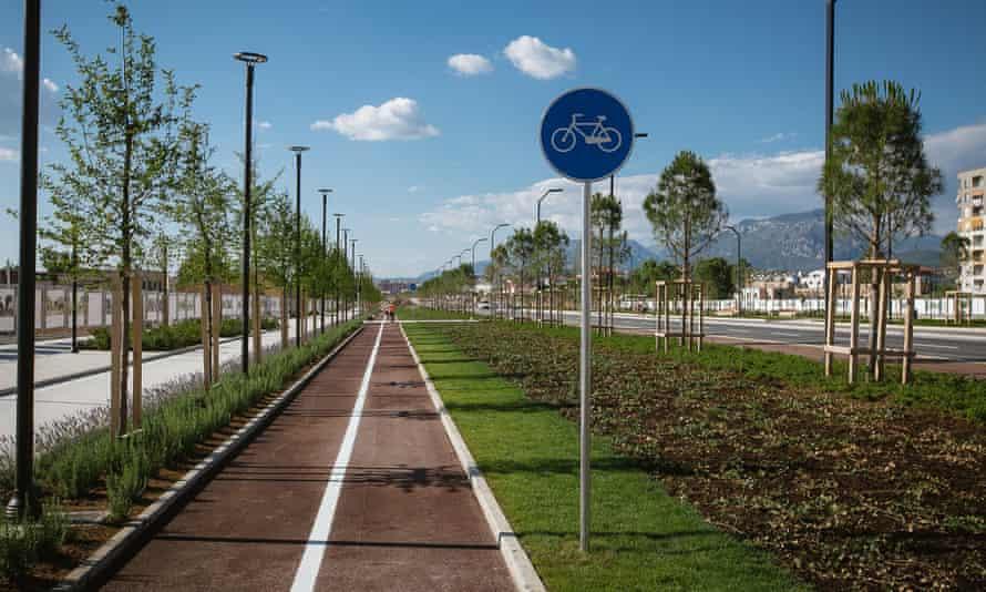 New Boulevard, Tirana.