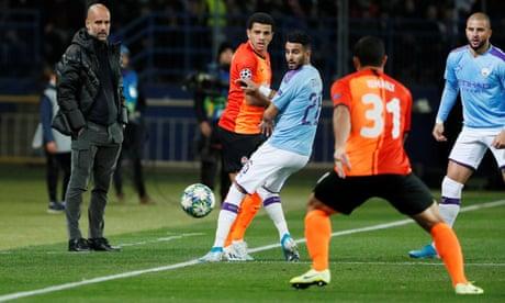 Shakhtar Donetsk v Manchester City: Champions League – live!