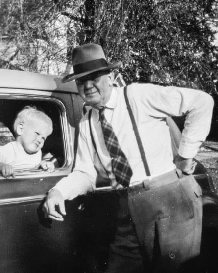 Lynch and his grandfather, Austin, in Sandpoint, Idaho.