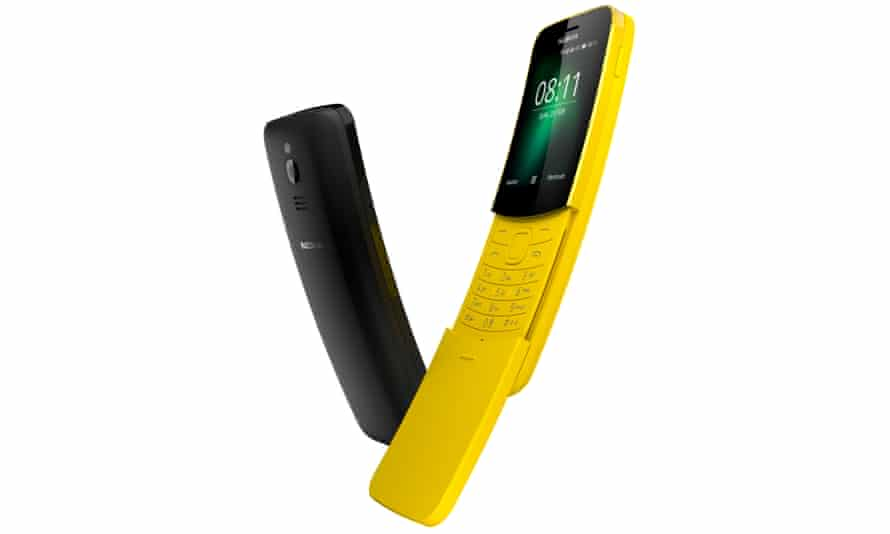 The new Nokia 8110 reboots the 1996 classic complete with slider and Snake.
