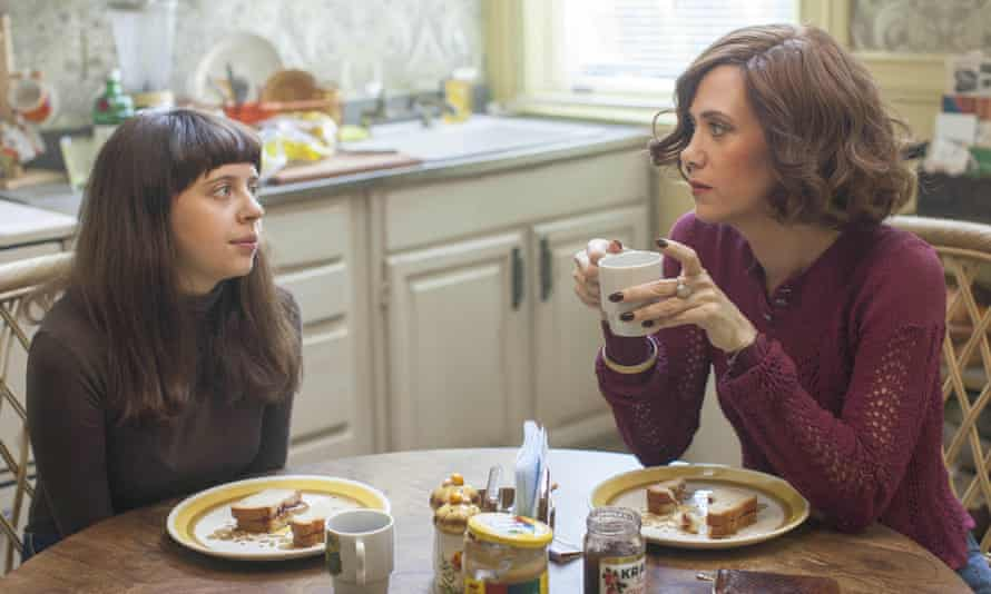 Bel Powley and Kristen Wiig in Heller's The Diary of a Teenage Girl.