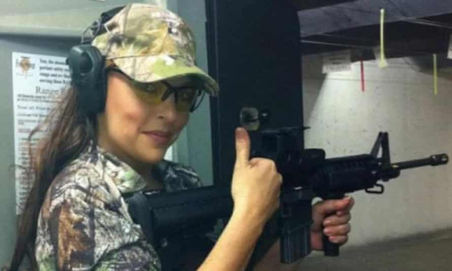 Image taken from the facebook page of the Gun Cave Indoor Firing Range in Hot Springs, Arkansas, owned by Jan Morgan