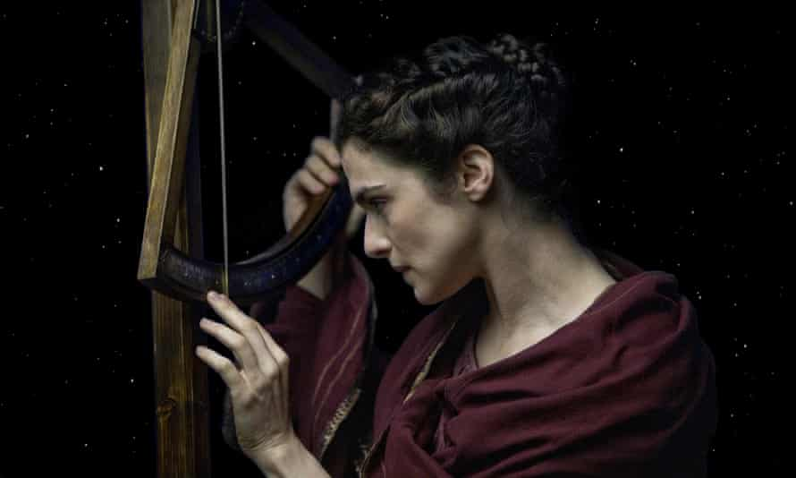 Rachel Weisz as Hypatia in the film Agora (2009) directed by Alejandro Amenábar.