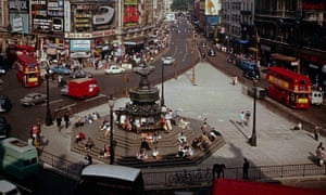 Elms's love of London 'shines from every page': Piccadilly Circus circa 1972