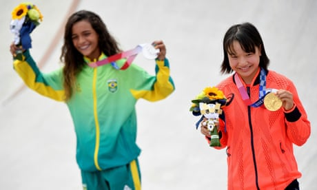 The girls of women's skateboarding are capturing the spotlight in Tokyo