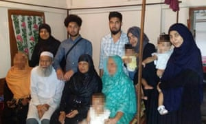 Police confirmed they were investigating the disappearance of a missing family of 12 from Luton.