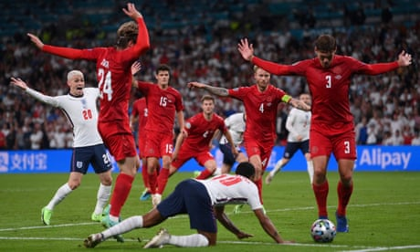 England's penalty leads to cries of hypocrisy across continent | Andy Hunter