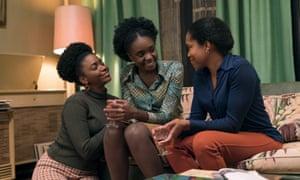 Teyonah Parris, Kiki Layne and Regina King in If Beale Street Could Talk.