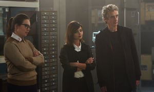 Osgood with Clara and the Doctor