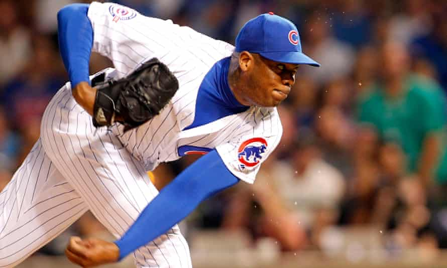 Aroldis Chapman was the subject of allegations of domestic violence