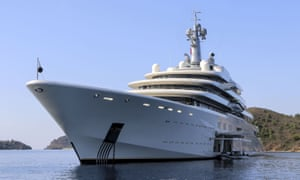 The 160-metre yacht Eclipse, owned by Roman Abramovich, has two helicopter pads, two swimming pools and a disco hall. The new regulations will affect vessels built after 2016. Getty