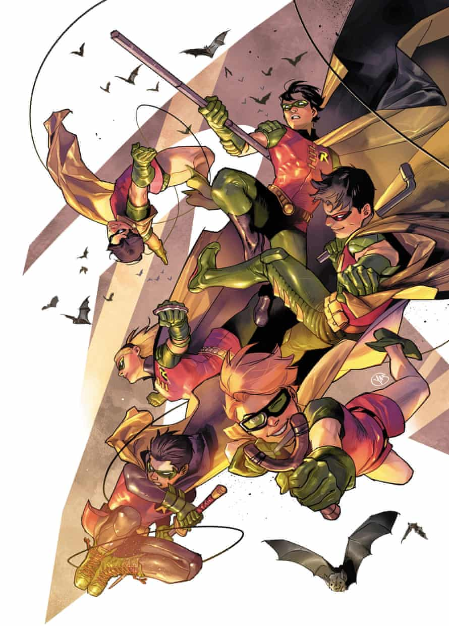 All the official iterations of Robin, by Yasmine Putri.