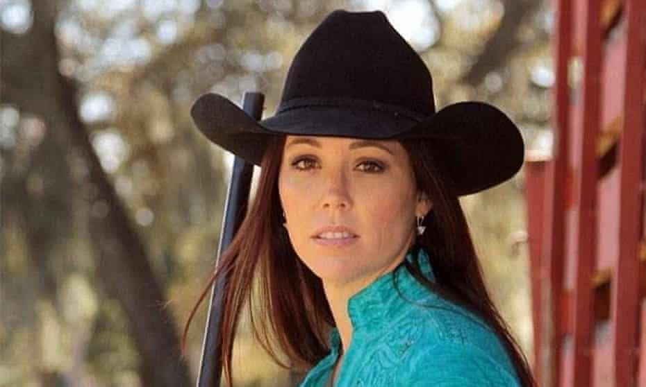 Jamie Gilt, who has built a thriving web presence on the argument that guns are perfectly safe around kids, was shot by her young child.