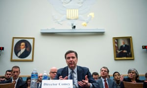 FBI Director James Comey testifies before the House Judiciary Committee hearing on 'The Encryption Tightrope: Balancing Americans' Security and Privacy', on 1 March 2016.