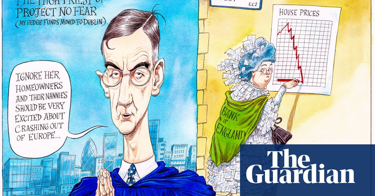 Jacob Rees-Mogg leads his flock crashing out of Europe