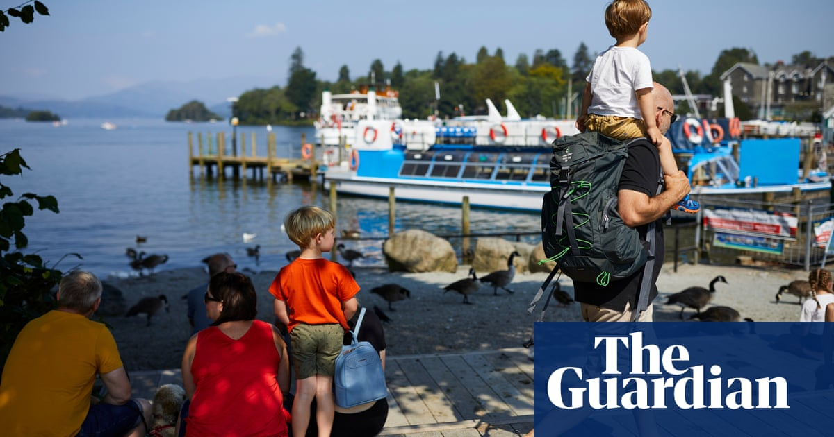 'This is brilliant': Windermere business booms as Britons holiday in Lake District | Travel & leisure | The Guardian