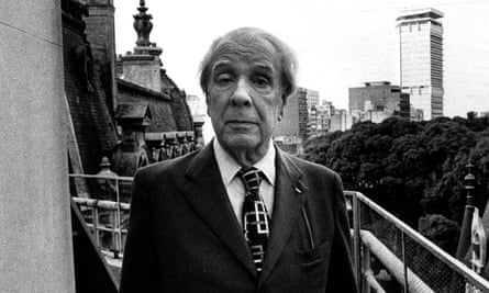 Jorge Luís Borges, author of The Aleph – a story which has since been fattened.