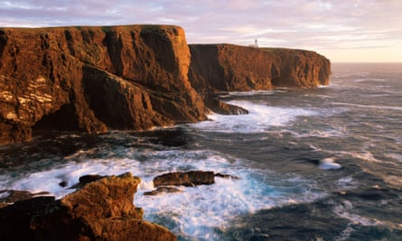 The Shetland Islands get most of their electricity from a diesel power station despite strong wind, wave and tidal resources.