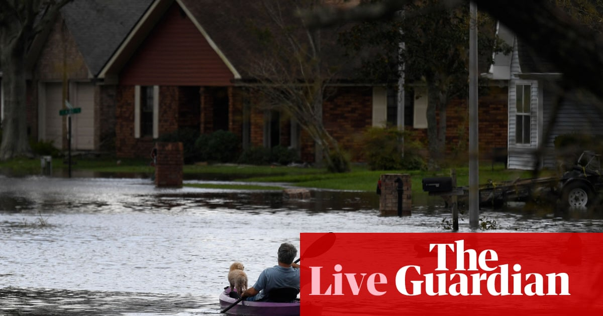 Biden to visit Louisiana while dozens dead after Ida drenches US north-east – live