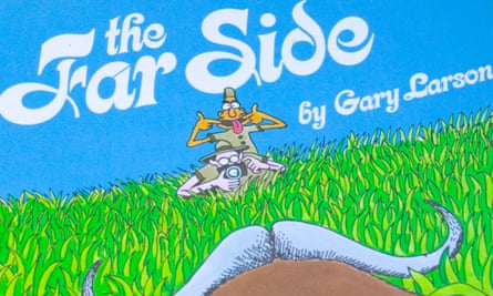 a Far Side cartoon book by Gary Larson.