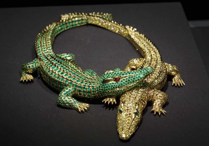 Maria Félix's crocodile necklace