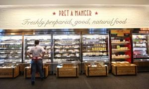 A Pret store