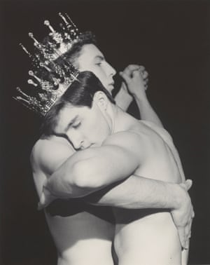 Robert Mapplethorpe 'Two men dancing' 1984