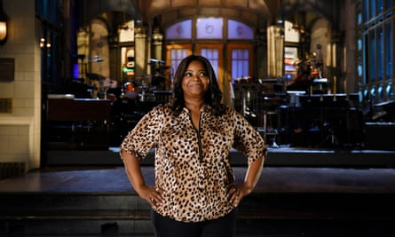 Octavia Spencer, who played Minny Jackson in the period movie The Help, co-hosted this week's Saturday Night Live.