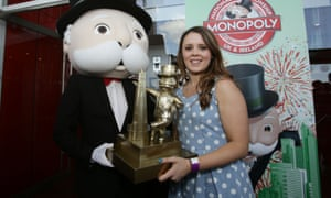 Monopoly UK champion Natalie Fitzsimmons said: 'You've got to hope the dice is on your side.'