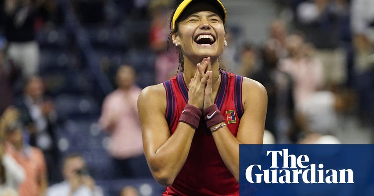 'I just can't believe it': Emma Raducanu struggles to take in run to US Open final