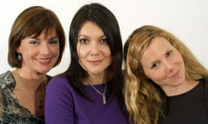 Doon MacKichan, Fiona Allen, Sally Phillips, writers stars of Smack the Pony.