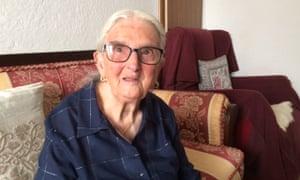 Maria Tegas, 100